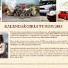Kalendář Girls Tuning 2015