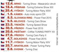 KALENDÁŘ TotalDip Tuning Battle