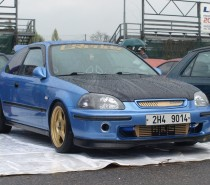 Ladislav Carda a Honda Civic