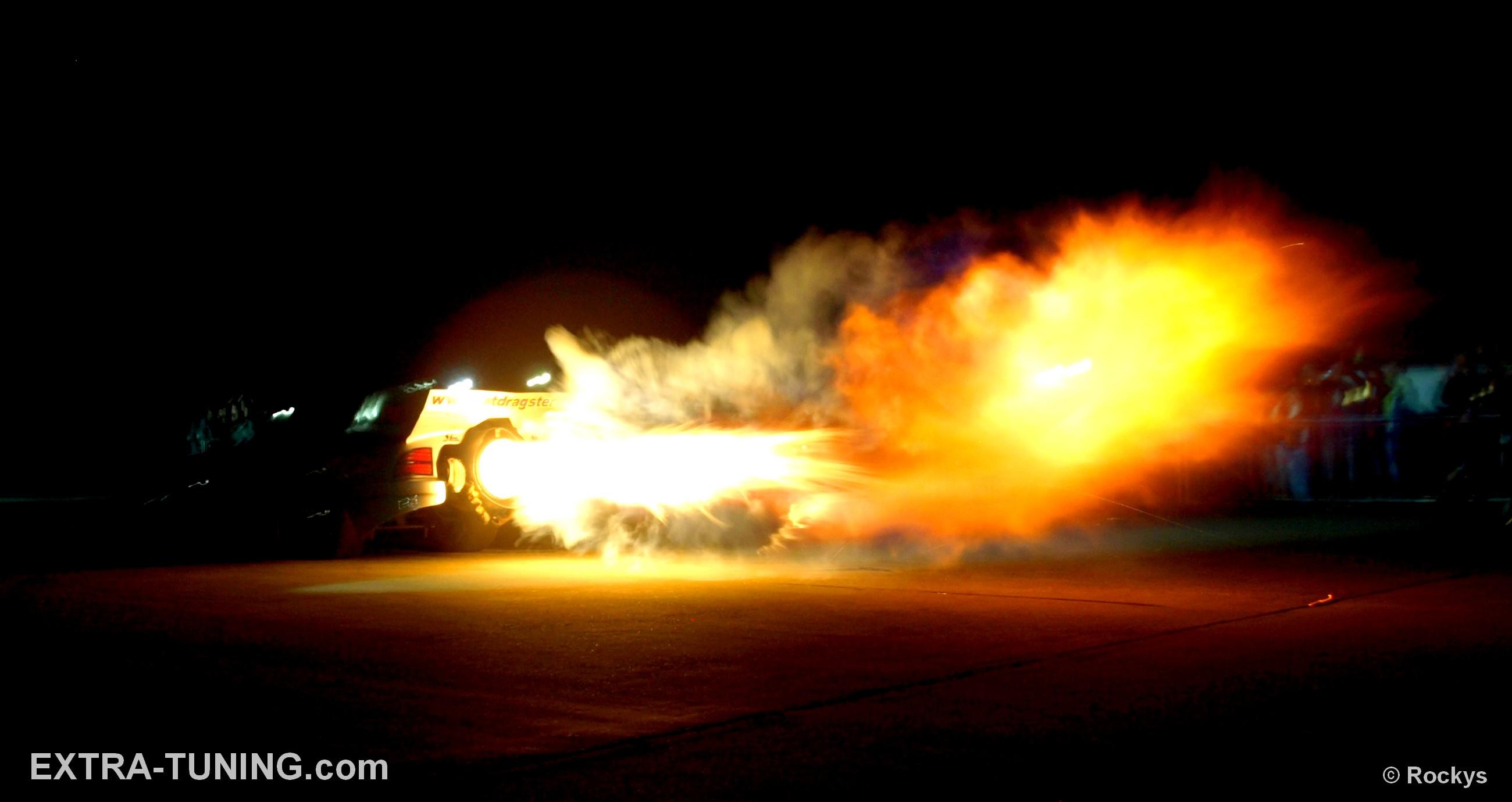 Jet dragster Dragon Hunter